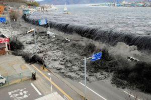 Thảm họa động đất và sóng thần ở Nhật.