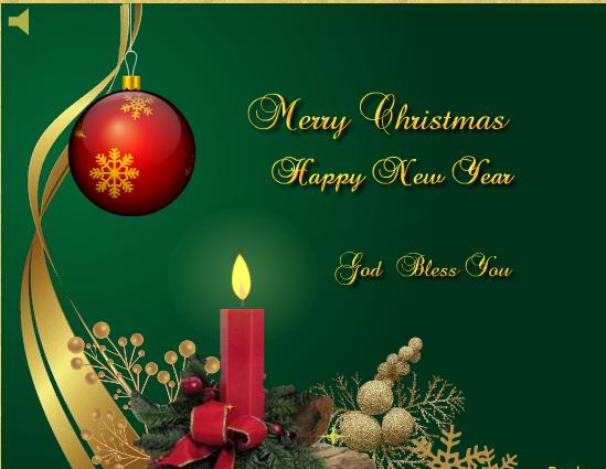 Merry Christmas. Ảnh: Greetings.com
