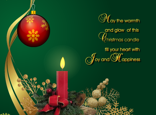 Chúc mừng Giáng Sinh.