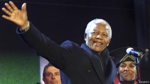 Nelson Mandela. Ảnh: Reuters