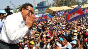 Sam Rainsy. Ảnh: Internet