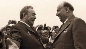 Breznev và Zivkov