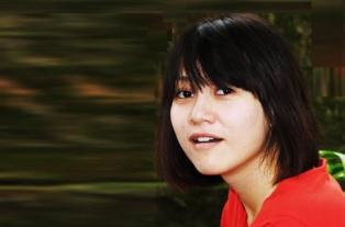 Nhà văn trẻ Chu Thùy Anh. Ảnh: Báo NV Tp HCM