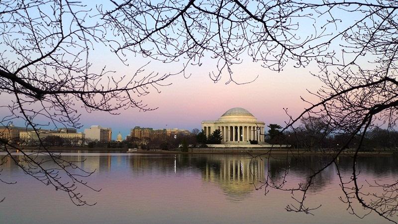 Jefferson Monument. Ảnh: HM