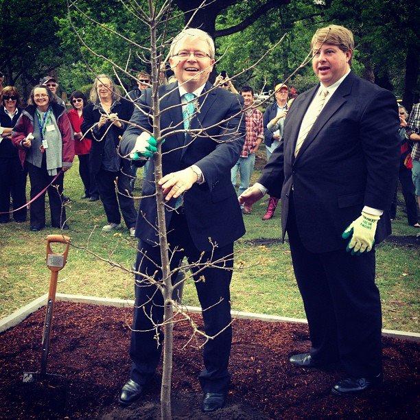 Kevin Rudd của Úc (2011)
