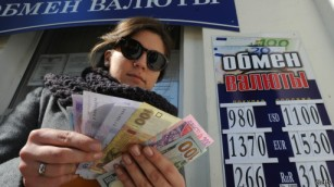 Crimea vẫn chung đồng tiền với Ukraine.