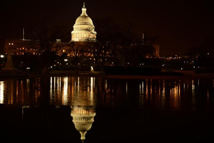 Icy Capitol Hill. Ảnh: HM