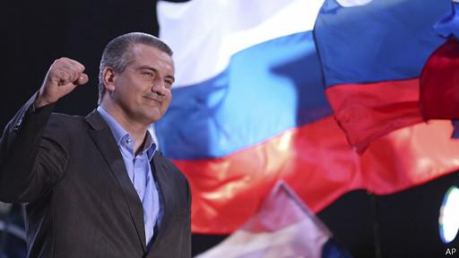 Ông Sergey Aksyonov tham vọng