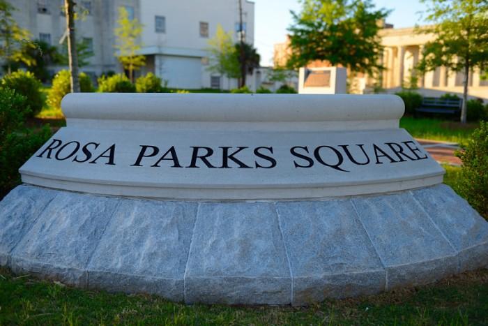 Công viên Rosa Parks. Ảnh: HM
