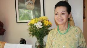 Chị Khánh Ly. Ảnh: BBC VN