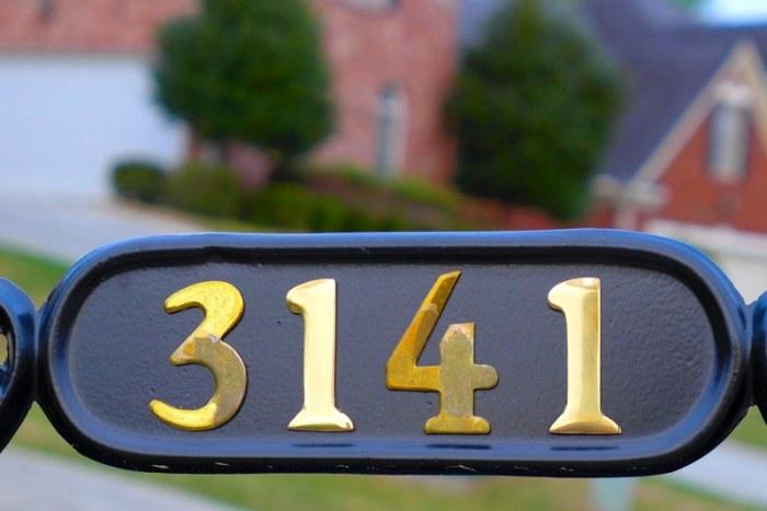 Số nhà. Ảnh: HM