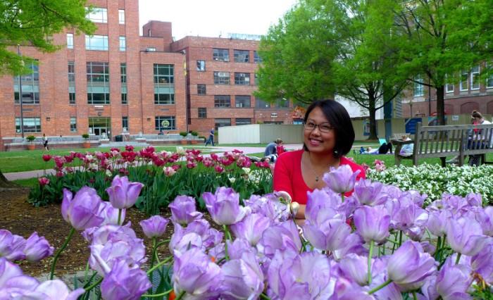 Khuôn viên đại học George Washington. Ảnh: HM