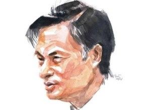 TS. Nguyễn Quang A. Họa sỹ Hoàng Tường vẽ.