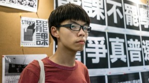 Joshua Wong. Ảnh: internet