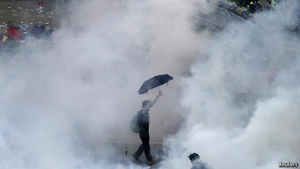 Biểu tượng của Hong Kong. Ảnh: Reuters.