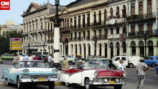 Xe hơi của Cuba.