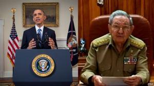 Mỹ và Cuba đồng thời tuyên bố nối lại quan hệ ngoại giao