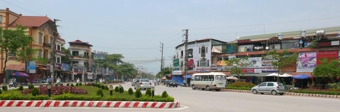 Trung tâm Điện Biên. Ảnh: HM