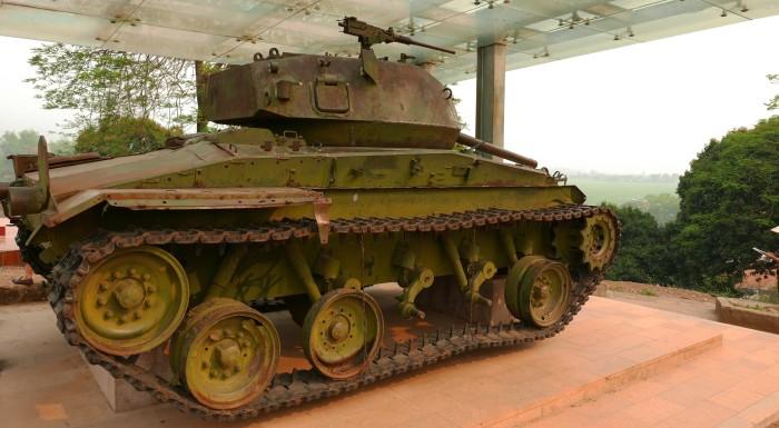 Xe tăng của Pháp. Ảnh: HM