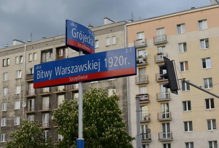Góc phố Bitwa Warszawska. Ảnh: HM