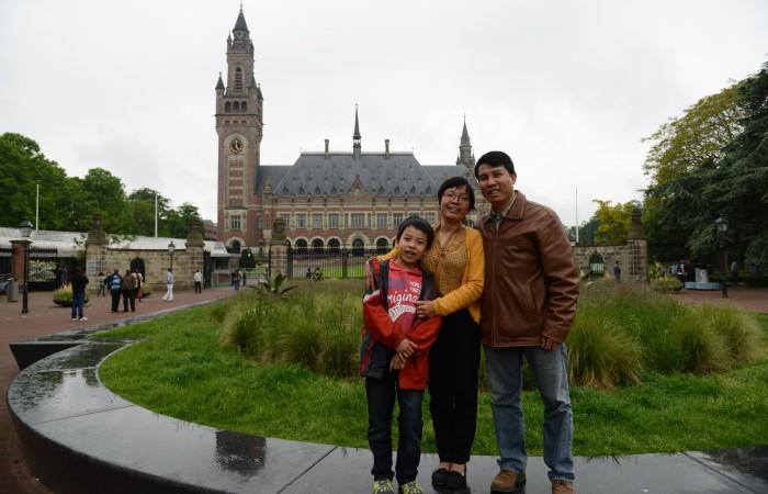 Trụ sở PCA ở La Hay - The Haag. Ảnh: Hiệu Minh