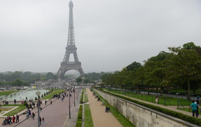 Tour Eiffel. Ảnh: HM
