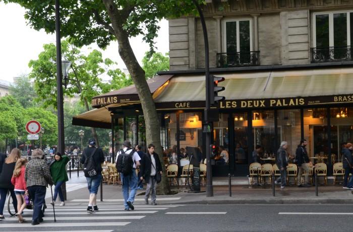 Một góc của Paris. Ảnh: HM