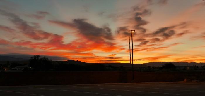 Valley of Fire - Las Vegas. Ảnh: HM